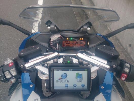 BMW R1200RS ナビゲーションステー