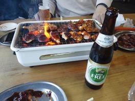 地鶏と、特性味噌うまし!!