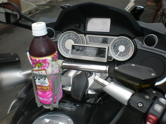 バイクにもドリンクホルダー!!