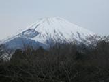 御胎内温泉からの富士山