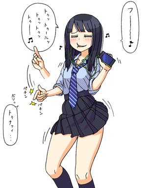 170_リスニング女子高生さんa