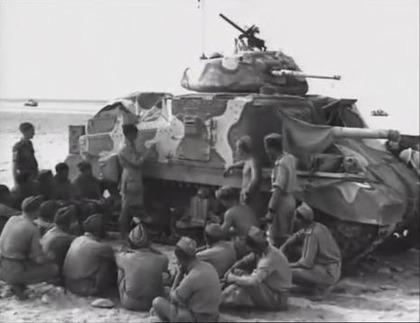 第8軍所属M3グラント戦車
