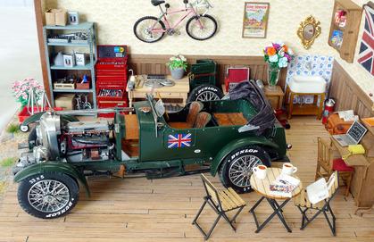 クルマ好きロンドンギャルのガレージ