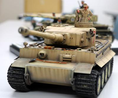 アフリカ戦線のタイガー戦車