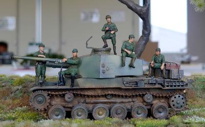 ファインモールドの三式中戦車チヌ