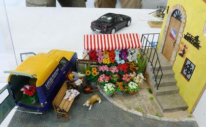 パリの小さな花屋