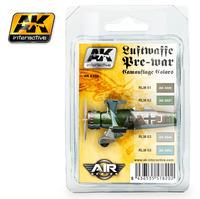 AK2320 ドイツ空軍カラーズWW2以前(1600円)