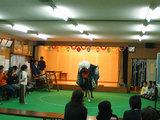 獅子舞いの練習風景