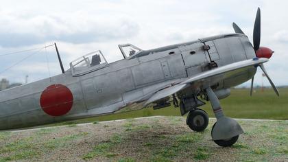 四式戦闘機「疾風」(IFVマツヅキさん作)