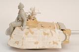 製作中のパンサー戦車