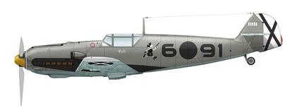 第88戦闘航空団第3中隊所属6-91機