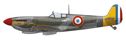 フランス軍航空隊所属MJ897