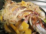 前回の「鯛のオーブン焼き」