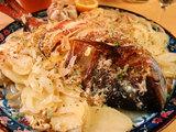 鯛のオーブン焼き 12月13日
