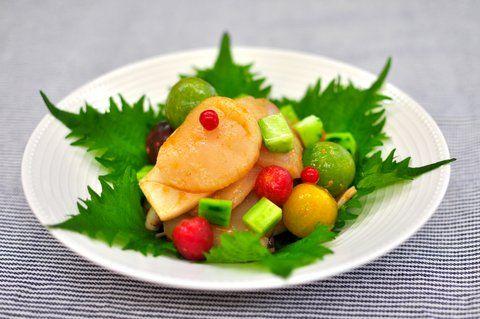 Recipe27:ホタテとイカの韓国風サラダ