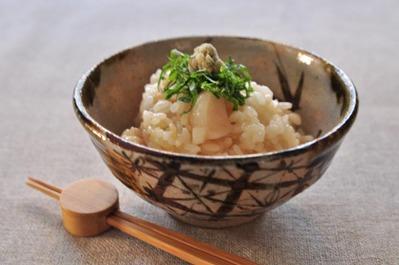 Recipe82:ホタテバターご飯