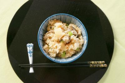 Recipe64:ホタテ炊き込みご飯