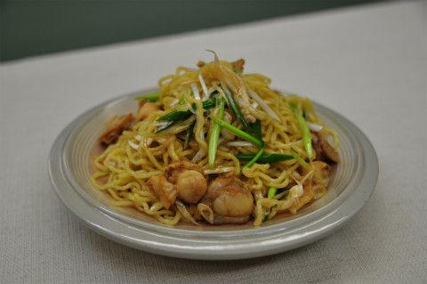 Recipe18:ボイルホタテの中華和え麺