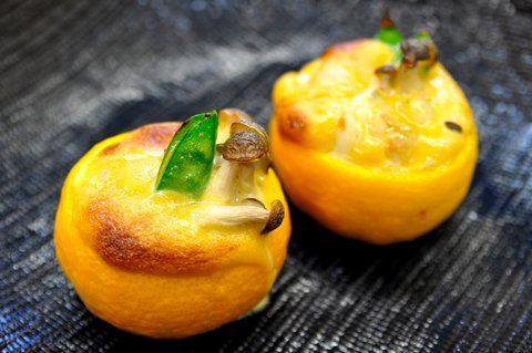 Recipe08:ほたての柚子釜焼き