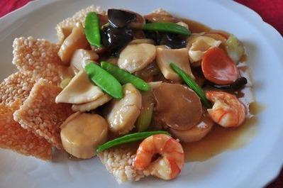 Recipe43:海鮮おこげ