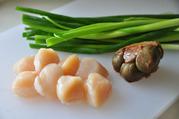 帆立の中華サラダ風-材料