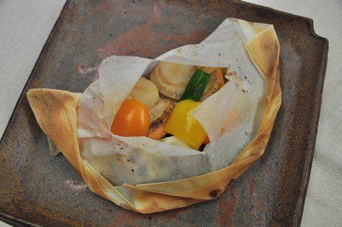 Recipe45:紙包帆立