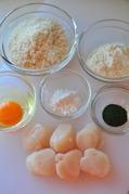 帆立―海の香りのフライ-材料
