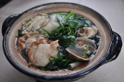 Recipe44:貝鍋