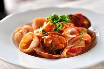 Recipe36:貝柱のペスカトーレ