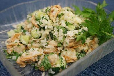 Recipe15:ベビーホタテサラダ