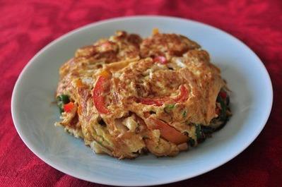 Recipe42:貝柱の卵とじ(中華風)