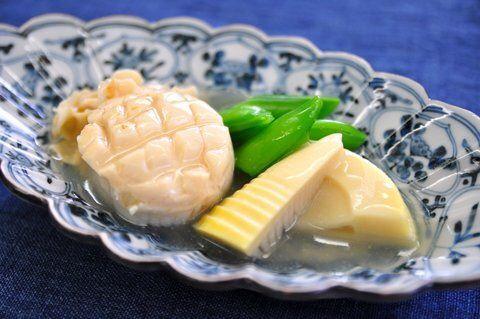 Recipe26:ホタテと筍の煮物