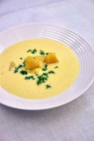 Recipe25:ホタテのスープ