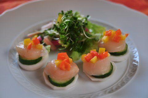 Recipe49:ほたてのお野菜たっぷりカルパッチョ