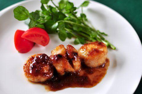 Recipe32:貝柱の蜂蜜醤油焼き