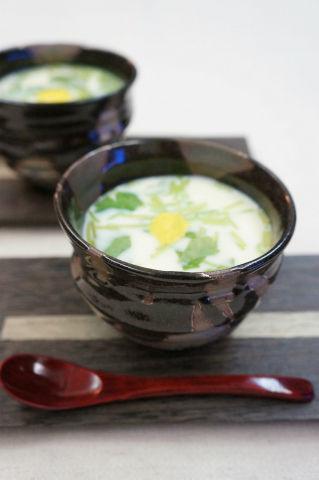 Recipe66:ホタテ貝柱の茶わん蒸し