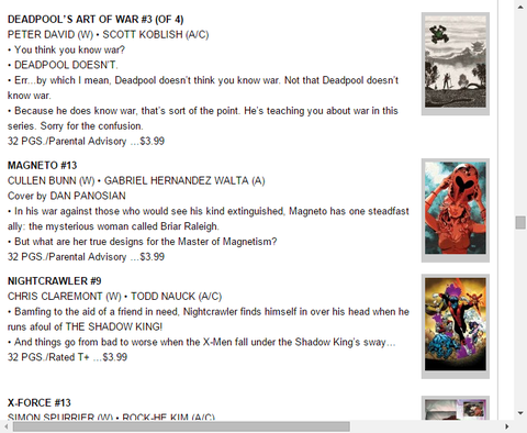 X-MENがシャドウキングの支配下に!?ナイトクローラー #9のプレビュー!
