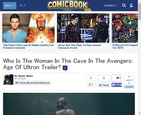 映画「アベンジャーズ:エイジ・オブ・ウルトロン」ででてきた謎の女性は誰か!?2つのキャラクター可能性を示す!