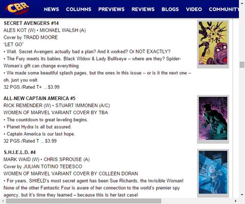 最後の希望!オールニュー・キャプテン・アメリカ #5のプレビュー!