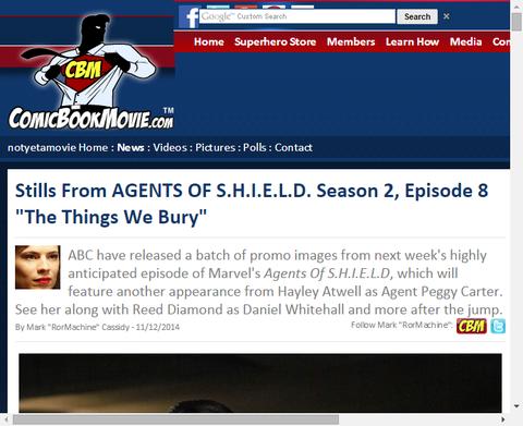 エージェント・カーターが戻ってくる!「エージェント・オブ・シールド」シーズン2 エピソード8のスティル画像!