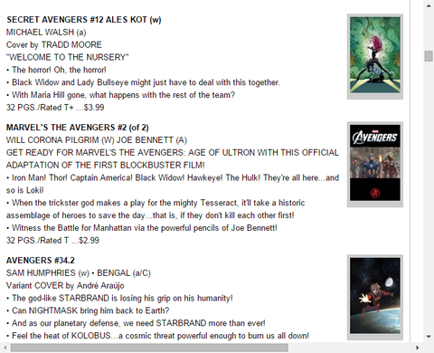 ブラックウィドウとレディ・ブルズアイが協力!?シークレット・アベンジャーズ #12のプレビュー!