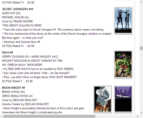 シークレット・アベンジャーズ #10のプレビュー!