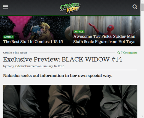「殺すのリスト」彼女はどこまで行ってしまうのか?ブラック・ウィドウ #14のプレビュー画像が更新!