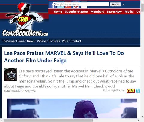 リー・ペイジはマーベルを称賛してフェイグの下で他の映画をやるのが好きだと話す!
