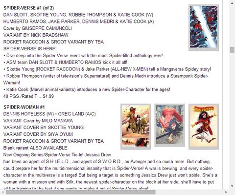 スパイダーマン2099 #6のプレビュー!
