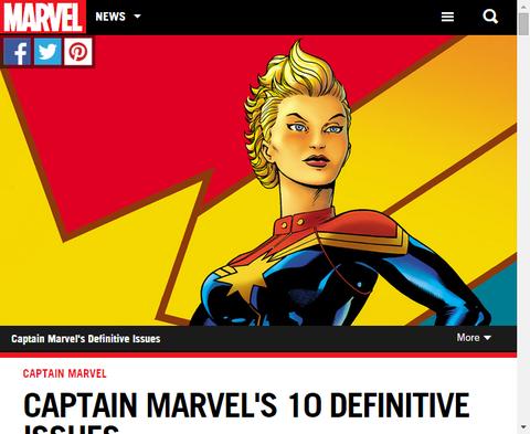 キャプテン・マーベルの10この決定的な巻を振り返る!