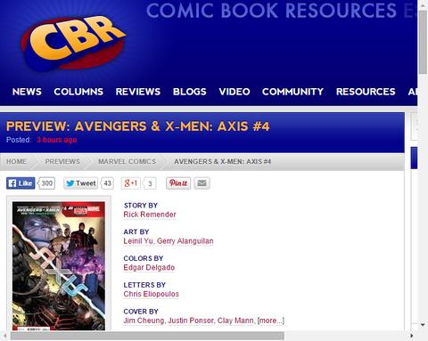キャプテン・アメリカがニック・フューリー・Jr.を殴る!アベンジャーズ&X-MEN:アクシス #4のプレビュー画像!