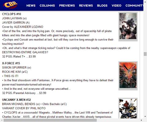 フォントメックスとの最終決戦!X-FORCE #15のプレビュー!