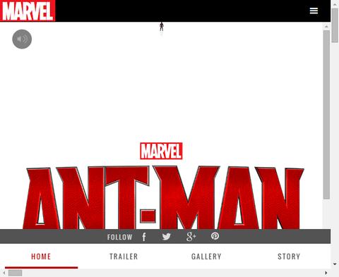 映画「アントマン」の米公式サイトが公開!しかし新情報などは無し!