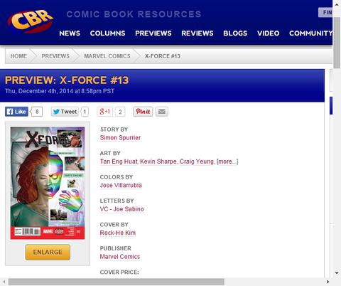 チームの命運はいかに!?X-FORCE #13のプレビュー!